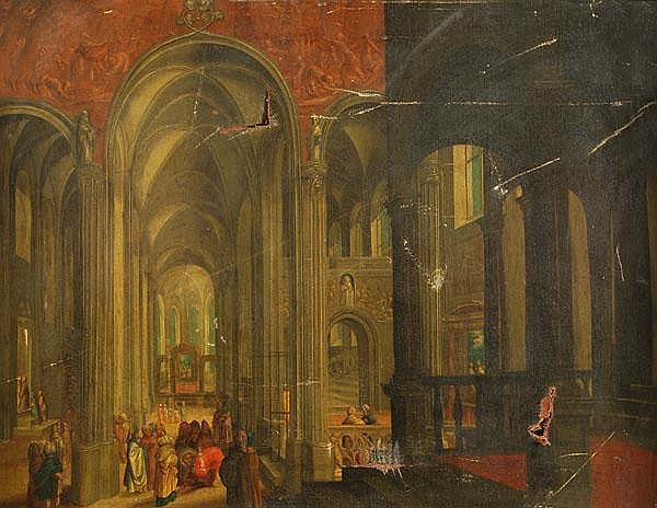 Dutch School (18th century) Christ and other