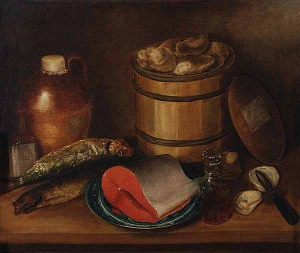Follower of George Smith of Chichester Still life