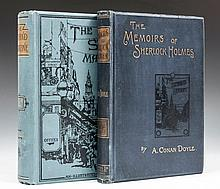 The Memoirs of Sherlock Holmes, first separate edition, half-title