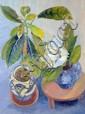 Elvic Steele (1920-1997) Still life of flowers in