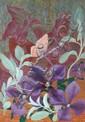 Elvic Steele (1920-1997) Flower studies Three, oil