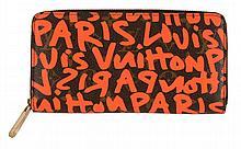 Louis Vuitton, Stephen Sprouse, Monogram, Graffiti, Zippy