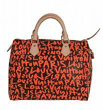 Louis Vuitton, Stephen Sprouse, Monogram Graffiti, Speedy 30