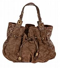 Louis Vuitton, Monogram, Irene Coco, a vernis and suede limited edition...