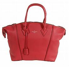Louis Vuitton, Lockit MM, a framboise calf leather handbag