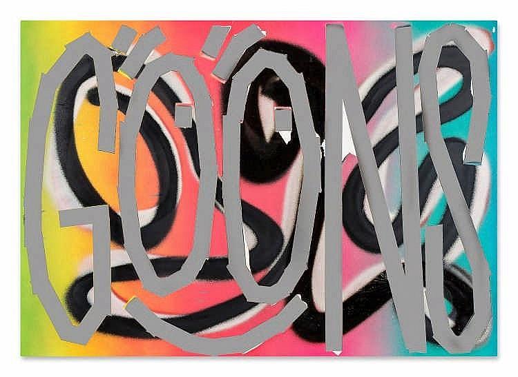 ** Eddie Peake (b. 1981) - Goons, 2012