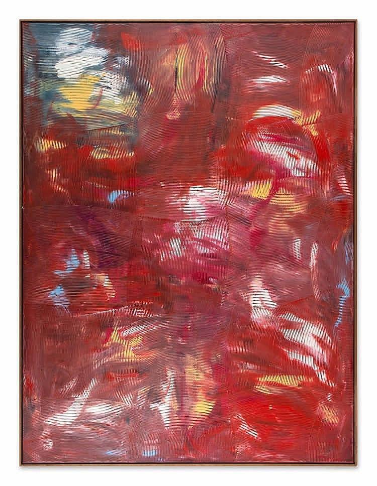 ** Dan Rees (b. 1982) - Artex Painting, 2012