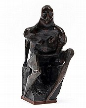 Michael Ayrton (1921-1975) Oracle I, 1962 bronze