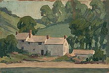 Robert Polhill Bevan (1865-1925) Farm Buildings,