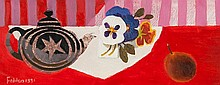 Mary Fedden (1915 - 2012) The Teapot, 1991 oil on