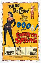 CARRY ON SPYING, NO, NO, Dr CROW