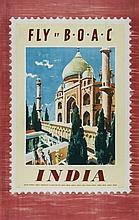 ANONYMOUS - INDIA, FLY by BOAC