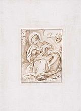 Stefano Mulinari (c 1741-1790) - Two plates after drawings by Guercino,