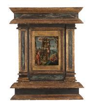 Circle of Frans Francken III (Flemish 1607-1667) - The Deposition