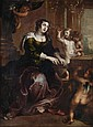 After Sir Peter Paul Rubens, Saint Cecilia, Oil on