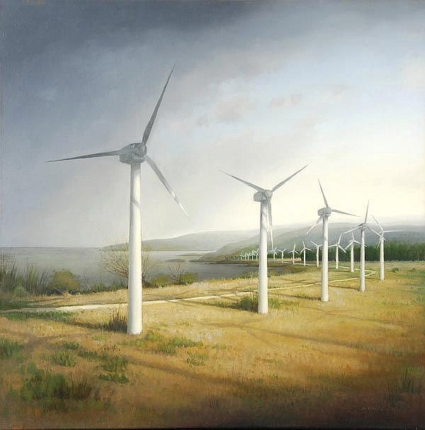 * Alexander Mckenzie (b.1971), Coastal Wind Power,