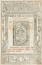 Origen. - Operum tomi duo priores, 4 vol. in 2, 2