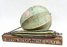 Betts (John) - Betts's Portable Terrestrial Globe,