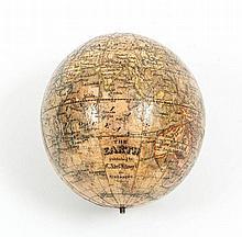 Klinger The Earth A travelling globe, lacking case, 8 cm