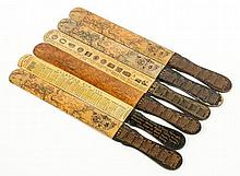 The Eastern Telegraph Company Ltd.- - A group of five assorted letter openers,