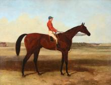 Harry Hall (1812-1888) - The Pretender, with John Osborne up