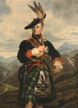 Henry Macbeth-Raeburn A.R.A. (1860-1947) - The Cock of the North, 5th V Duke of Gordon