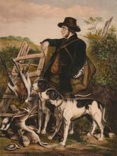 S. Lipschitz (19th century) - The English Gamekeeper; The Scotch Gamekeeper