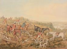 Attributed to Henry Alken (1785-1851) - A set of six hunting escapades