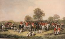 After Henry Calvert (1798-1869) - The Cheshire Hunt