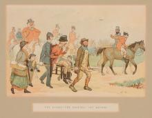British School (late 19th century) - A set of four hunting scenes