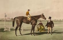 After Alfred Frank de Prades (1840-1895) - Nancy, Winner of the Chester and Goodwood Cups, 1851