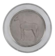 A limited edition silver plate By Roberts & Dore Ltd