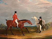 John Frederick Herring Snr. (1795-1865) - Two gentlemen