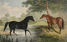 After John Frederick Herring Sr. (1795-1865) - Three plates from 'Fores's Thoroughbreds'