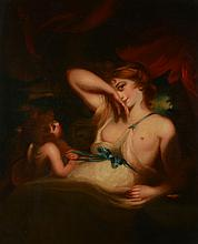 After Sir Joshua Reynolds (British 1723-1792) - Venus and Amor