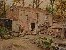 Henry Meynell Rheam (British 1859-1920) - Cornish watermill
