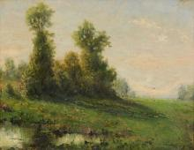Barbizon School (French 19th Century) - Landscape