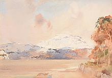 William Russell Flint (Scottish 1880-1969) - 'The Cobbler and Gareloch' Argyll, Scotland