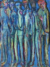 John Thompson (b.1924) - Standing figures