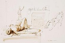 Robbie Wraith (b. 1952) - Figure study