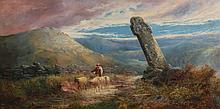 William Widgery (1822-1893) - Cross on Weak Down, Devon