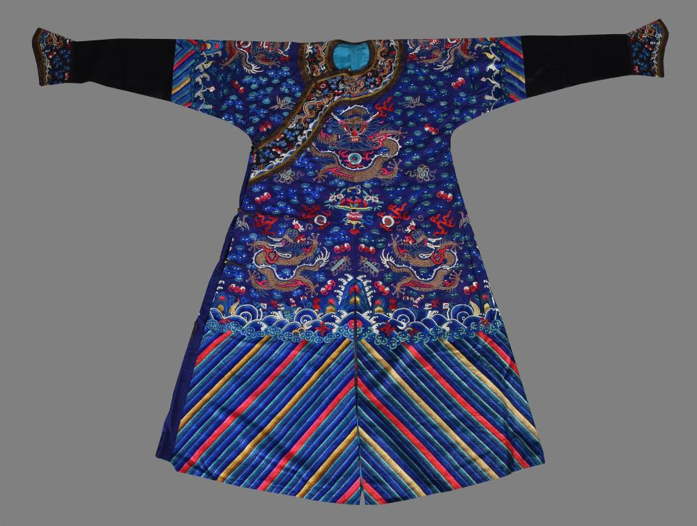 A Chinese Mandarins 'dragon' robe