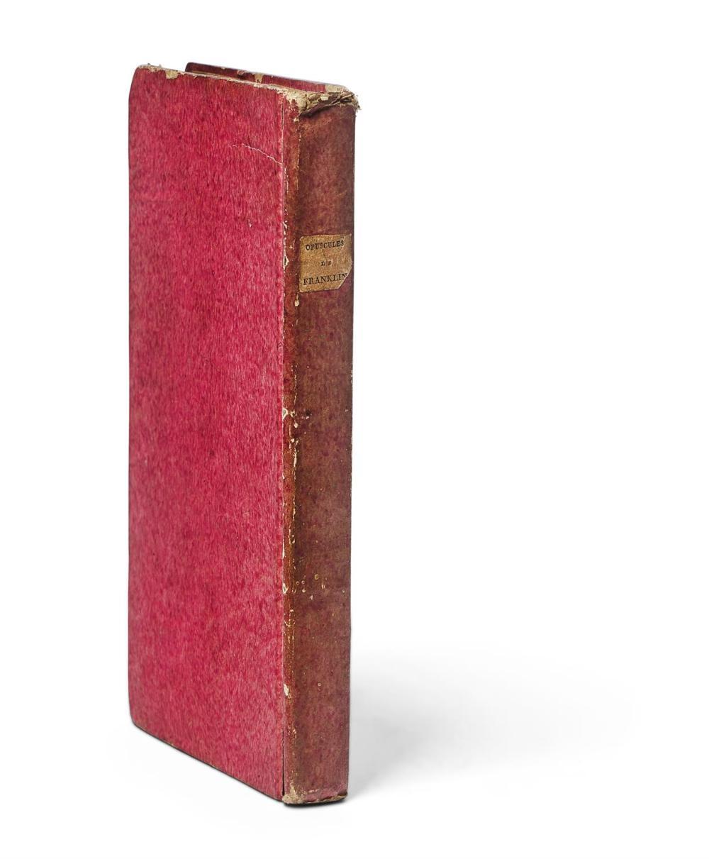 Ɵ FRANKLIN, BENJAMIN. THE WAY TO WEALTH. PARIS. PRINTED FOR RENOUARD, 1795