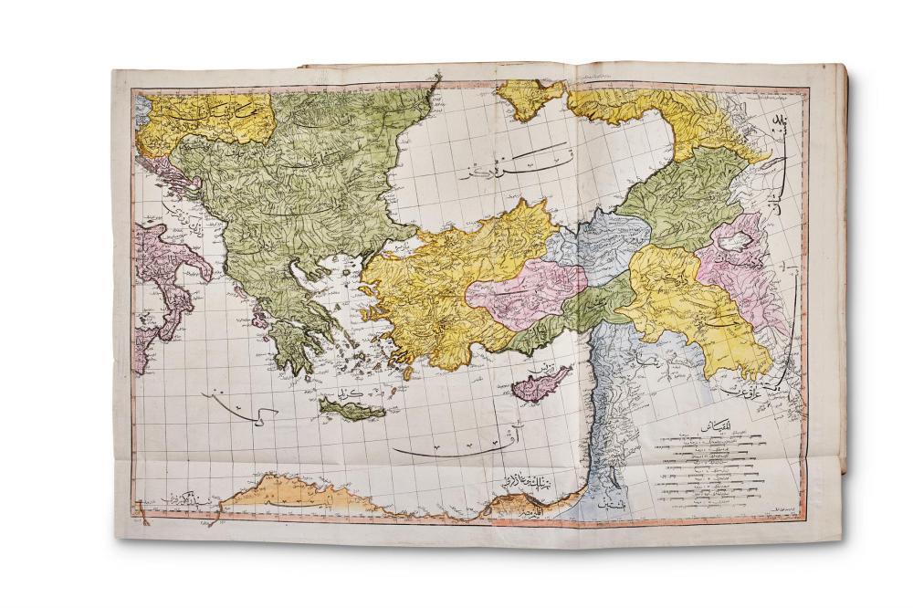Ɵ OTTOMAN ATLAS: RAIF EFENDI, MAHMUD. CONSTANTINOPLE, 1218 AH (APRIL 1803-MARCH 1804)