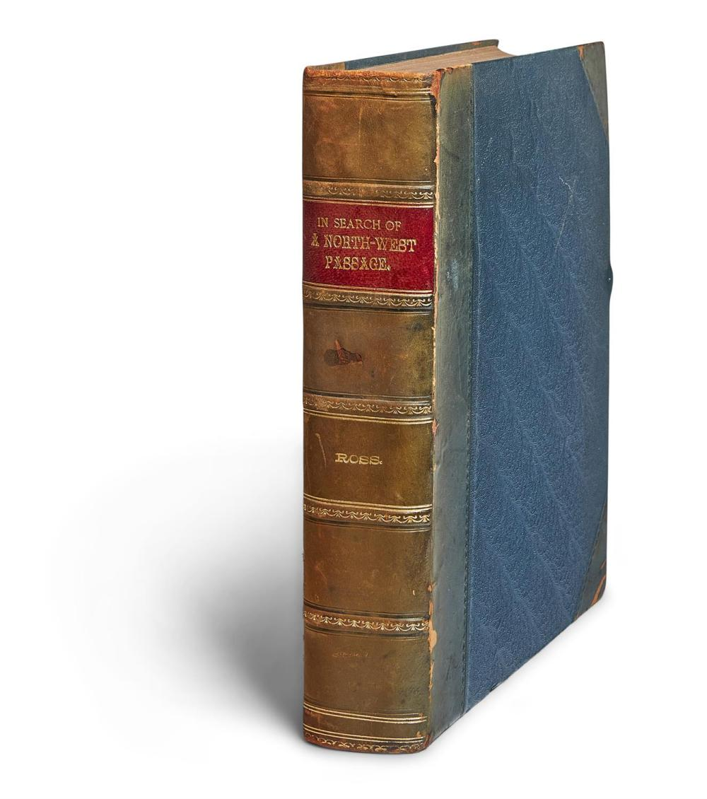 Ɵ ROSS, J. NARRATIVE OF A SECOND VOYAGE . . 1829[-]1833. FIRST EDITION. 1835