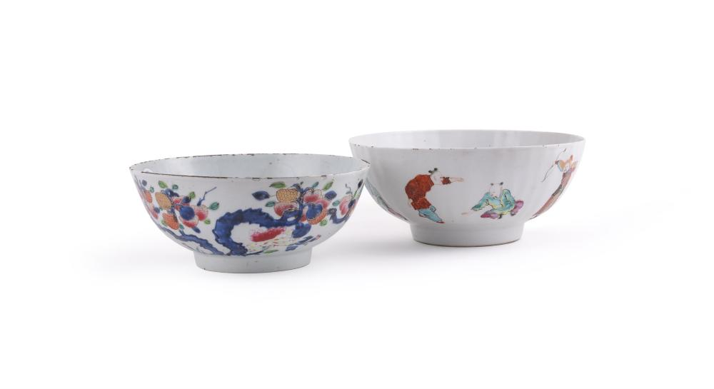 A Chinese Export Famille Rose bowl