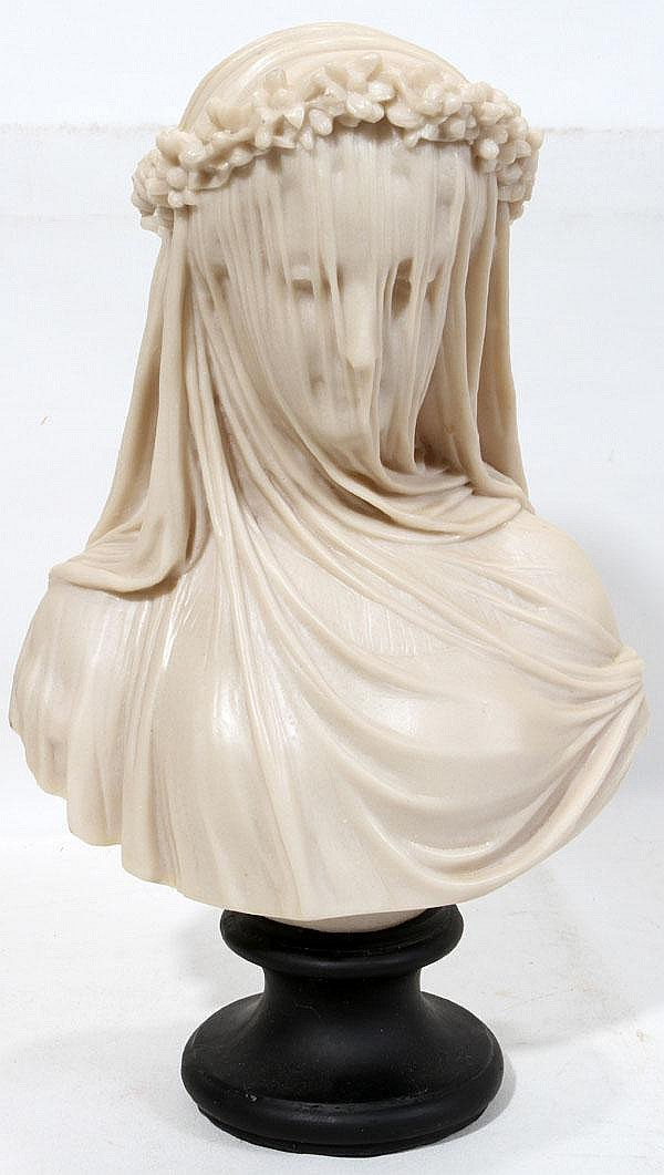 Lady or the veiled bride