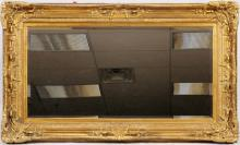 PIER MIRROR WOOD AND GESSO