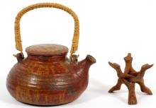 HEIJU OAK PACKARD POTTERY TEA POT