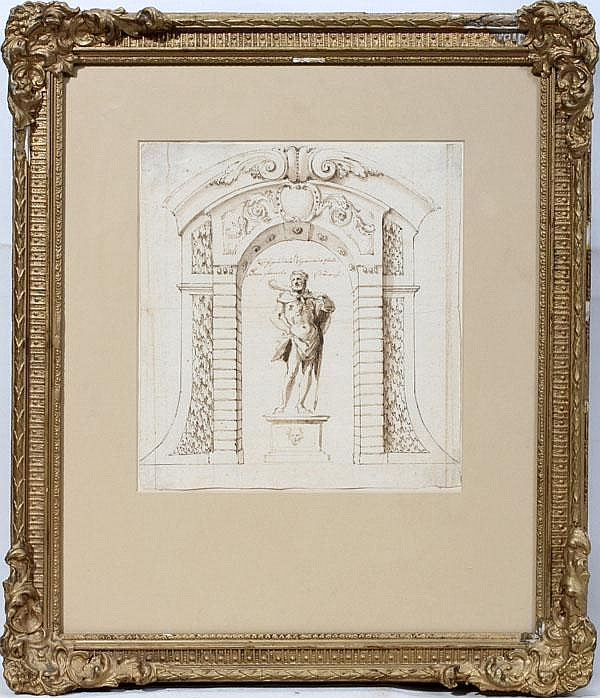 SIGISMONDO CAULA, [MODENA 1637-1724], PEN AND